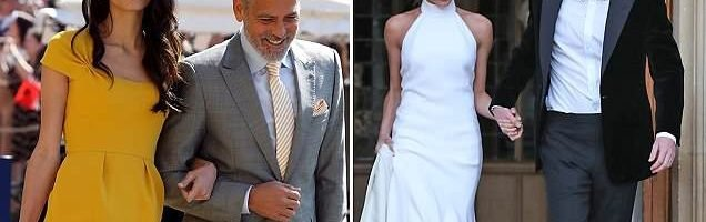 b522601a Amal Clooney is OFFICIALLY crowned best dressed royal wedding dress ...