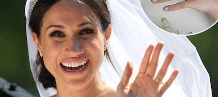 Meghan Markle Wears Queen S Favorite Nail Polish For Royal Wedding