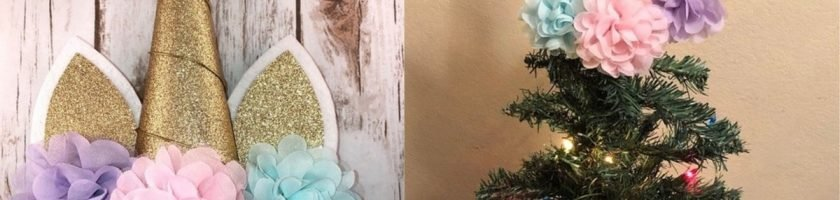 These Unicorn Christmas Tree Toppers Will Make Your Tree Magical As