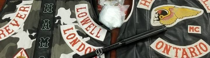 Police seize $15K in cocaine, arrest 'known Hell's Angel