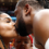 Gabrielle Union Kisses Dwyane Wade While Cradling Baby Kaavia After His Final Home Game